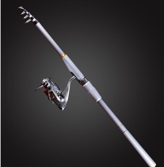 海竿套裝海桿組合甩拋竿遠投竿釣魚竿超硬漁具全套清倉海釣竿 年會尾牙禮物