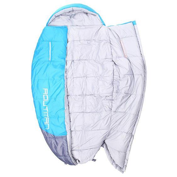 睡袋路特曼伸手睡袋成人室內加大加寬超大號戶外用品夜班值班胖子睡袋CY潮流站
