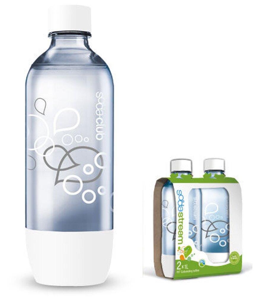 《原廠配件》Sodastream Jet / Genesis 氣泡水機 專用1L水瓶 寶特瓶 空瓶 (一組二入)