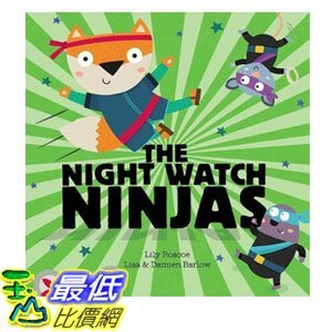 2018 amazon 亞馬遜暢銷書 Night Watch Ninjas