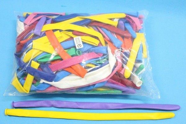 台灣製加粗型造型氣球 360SP 超長氣球 (專業級)魔術氣球(加粗型.混色)30cm/一大包100條入{定700}