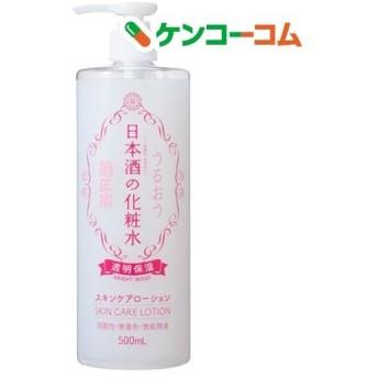 菊正宗 日本酒の化粧水 透明保湿 ( 500ml )