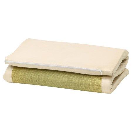 ◆雙人 雙目藺草記憶純棉床墊 56.2 NITORI宜得利家居
