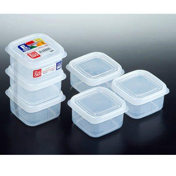 BO雜貨【SV3128】日本製 方型保鮮盒 200ml*3 便當 廚房收納 冰箱 微波爐 餐廚 K141