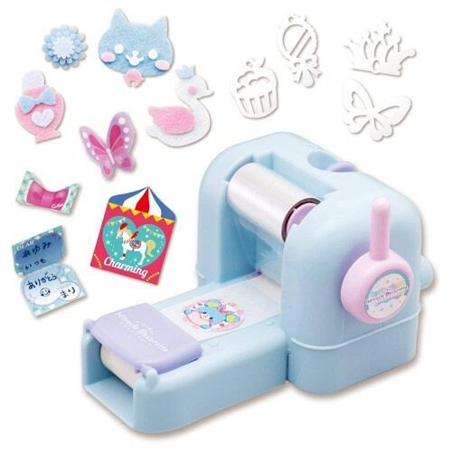 【Fun心玩】BD22166 麗嬰 日本 BANDAI 魔法貼紙派對 DIY 貼紙機 親子 美勞 玩具 聖誕 生日 禮物