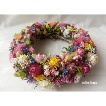 atelier blugra八ヶ岳〜ColorfulWreath001