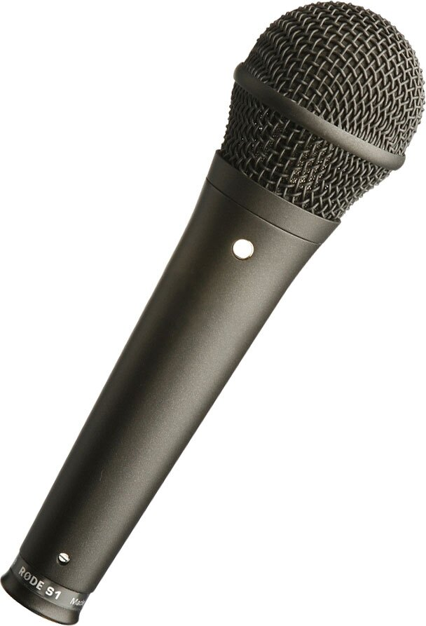 【滿1800元折180】 RODE S1-B 電容式麥克風 黑 公司貨 表演 收音 錄音 MIC 手持 超心形