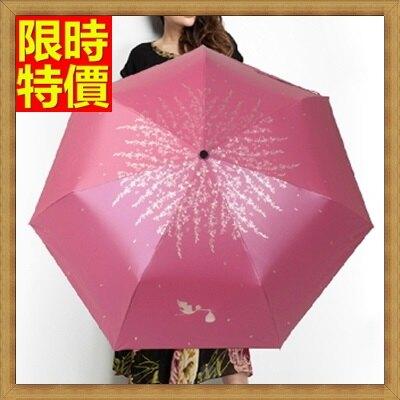 雨傘手動摺疊傘遮陽傘-超輕黑膠遮陽傘女用晴雨傘5色66aj27【獨家進口】【米蘭精品】