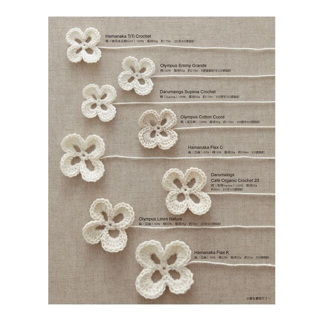 從一枚花樣開始學蕾絲鉤織 (暢銷版)