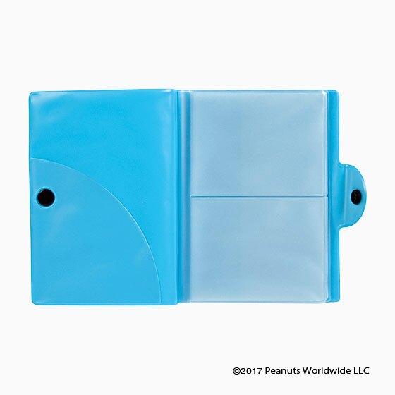 17080100020 卡片證件套-SN音服藍+AAZ 史奴比 史努比 SNOOPY 卡片夾 卡夾 卡套 真愛日本
