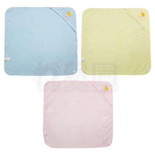 Piyo 黃色小鴨 包紗夏季包巾-淺藍/淺黃/淺粉【悅兒園婦幼生活館】