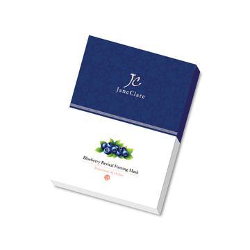 藍莓薰香緊緻面膜/每片蘊含相等於116顆藍莓的精華/緊緻肌膚/收細毛孔/淡化皺紋/補濕鎖水/滋養修護 3片/盒
