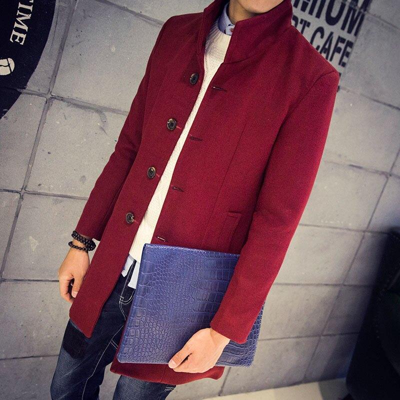 Mao  最新款日韓新品百搭休閒商務中長款大衣外套