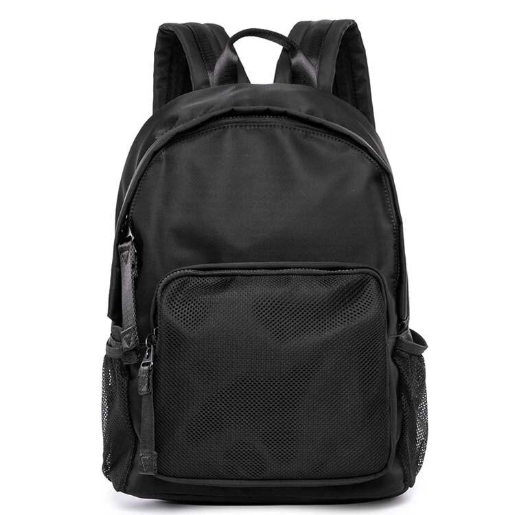 【5折超值價】經典潮流日系簡約素色造型百搭休閒後背包