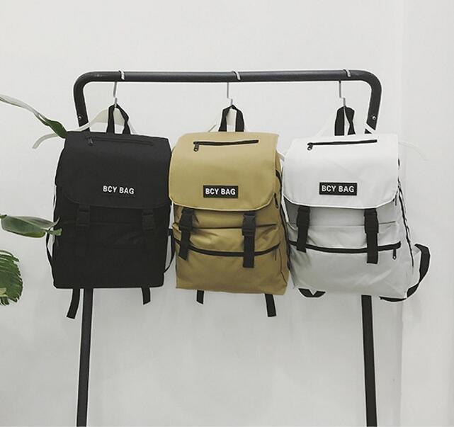 FINDSENSE品牌 日系 時尚潮流 男 復古簡約學生包 旅行背包 多用途背包 書包 後背包 肩背包