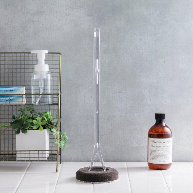 日本tidy萬用去汙刷(長柄) 浴室浴缸清潔 超細纖維有效去汙