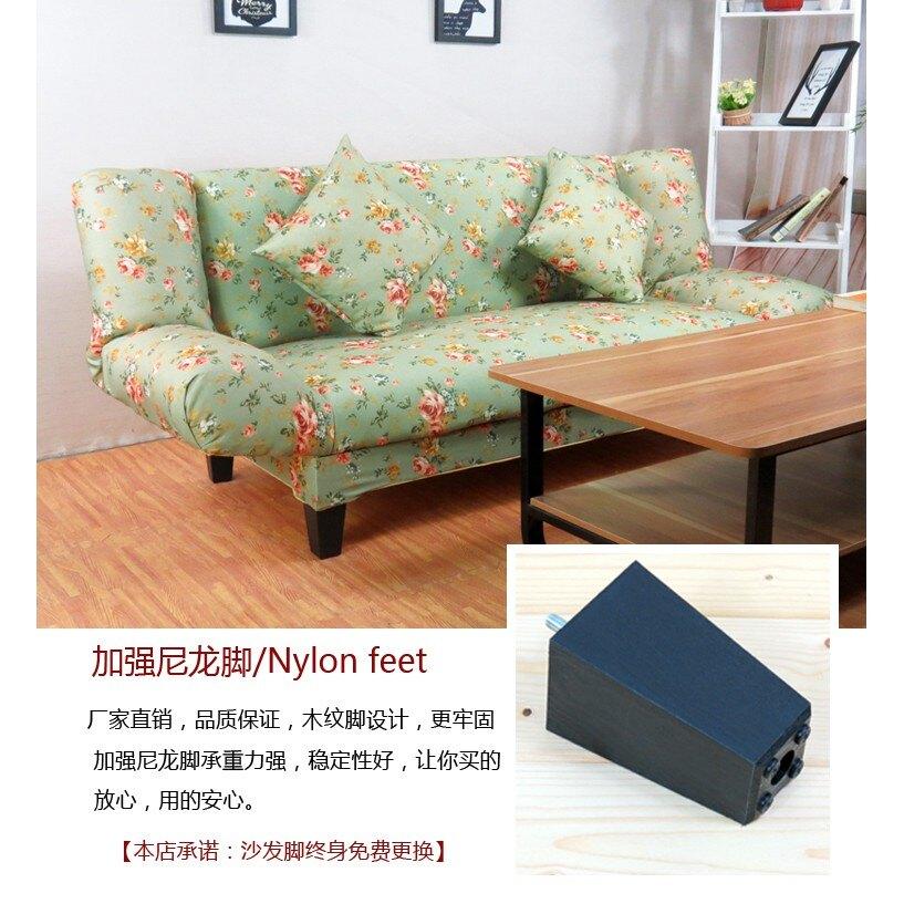 整裝可摺疊沙發客廳小戶型簡易沙發雙人三人布藝沙發1.8米沙發床ATF