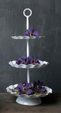 【協貿國際】歐式三層蛋糕架甜品架蛋糕盤(大)
