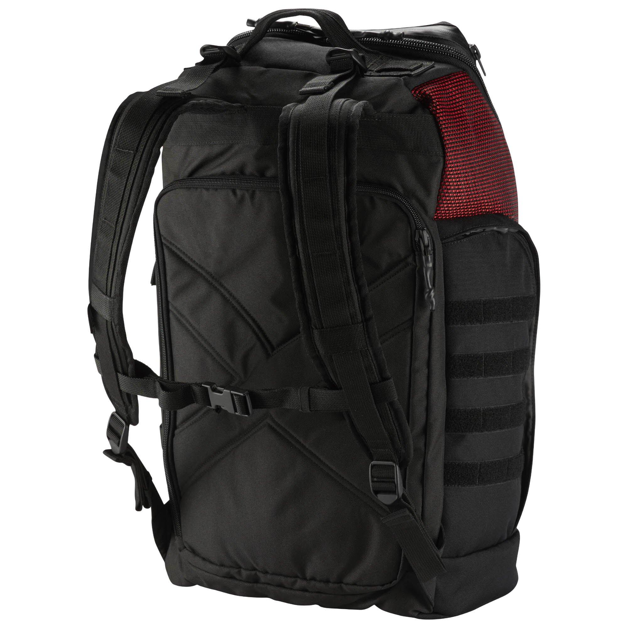 REEBOK CROSSFIT BACKPACK 後背包 雙肩 休閒 運動 筆電 黑 紅【運動世界】CD7259