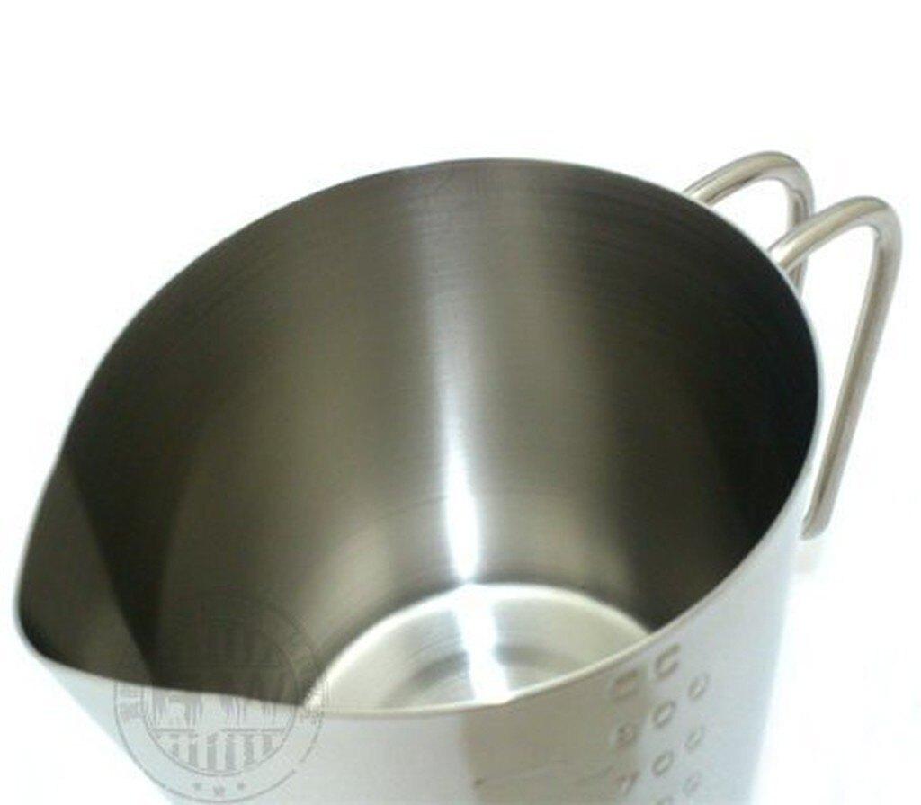 ZEBRA斑馬牌不銹鋼刻度量杯800cc SUS304不鏽鋼杯 耐酸鹼最適製作渲染手工皂