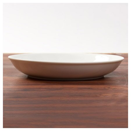 23cm圓皿 A0064 9吋 白色系餐具 NITORI宜得利家居