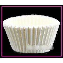【紙杯托-油紙-大白小號-10包/組】油紙托 紙杯 一次性 巧克力蛋糕托(上口可展開,底徑3.5*高2.5cm)25張/包,10包/組(可混選)-8001006