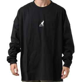 KANGOL カンゴール メンズ 長袖Tシャツ KGSA-NN1920 BLACK M