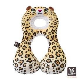 【以色列Benbat】【限量版 】寶寶旅行頸枕/頭枕 適用1-4歲 豹【紫貝殼】