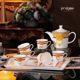 歐式骨瓷茶具套裝 英式下午茶茶具 花茶茶具涼水壺 熱水壺