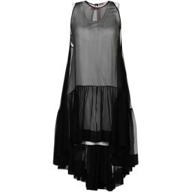 《セール開催中》N°21 レディース ミニワンピース&ドレス ブラック 38 シルク 100%