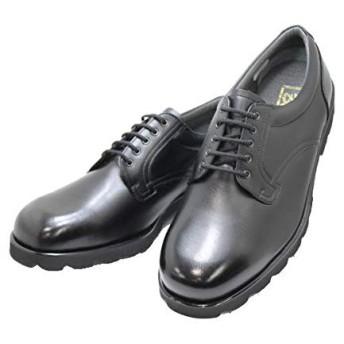 幅広甲高 本革6E ビジネス BLACK NO.16111黒色(ブラック)6E レースアップシューズ メンズ 日本製 26.5cm