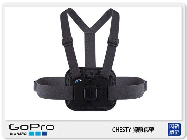 【銀行刷卡金+樂天點數回饋】GOPRO 胸前綁帶 AGCHM-001 (AGCHM001,公司貨)HERO5 HERO6 HERO7