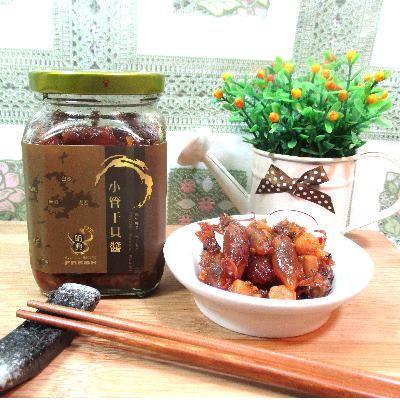 【澎湖小管干貝醬-約320g10%/罐-3罐/組】小管干貝蝦米製成澎湖特產產地直送(可混搭)-2501002