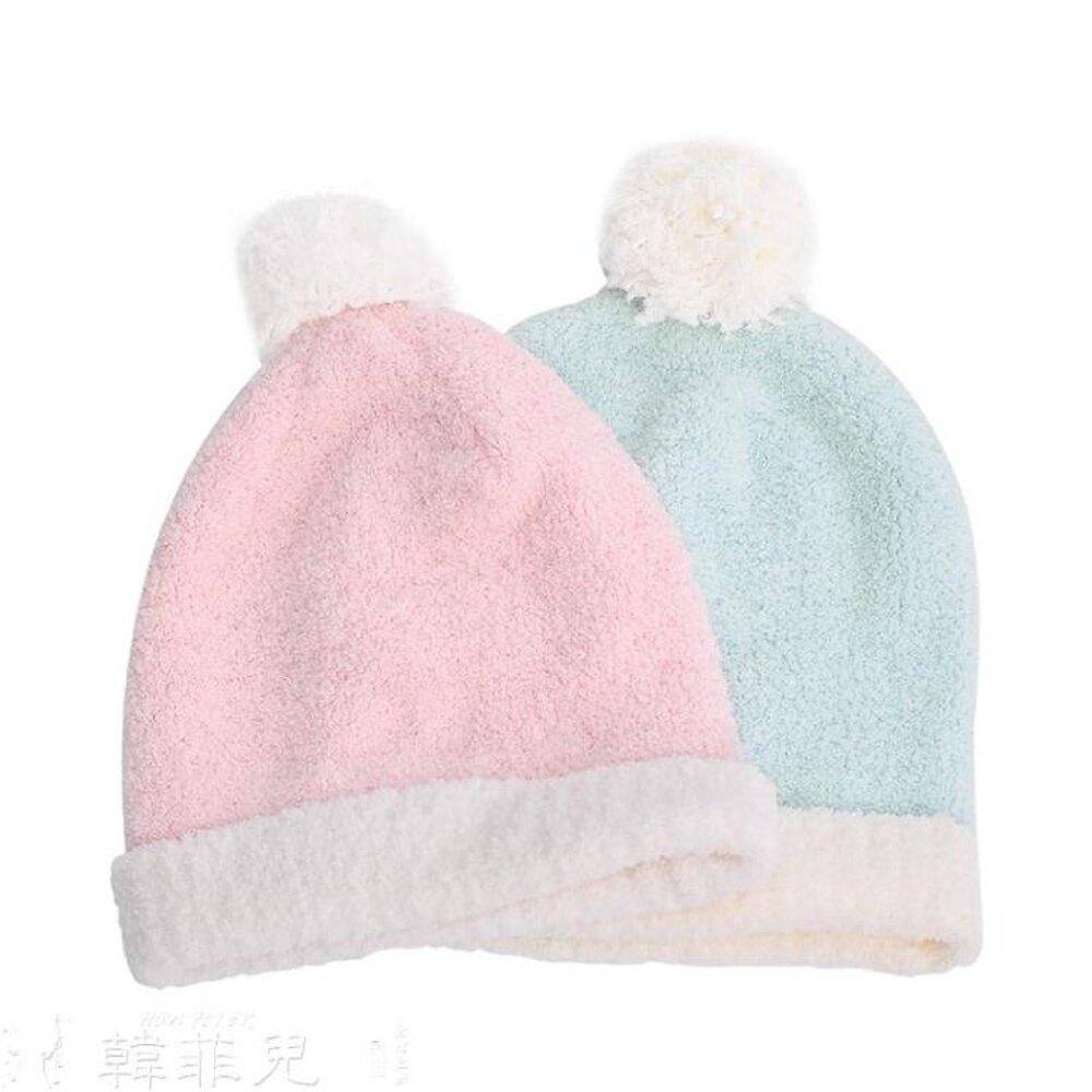 月子帽 秋冬加絨孕婦帽子  產婦產后用品 時尚保暖防風帽女 孕產外出帽子 韓菲兒 聖誕節禮物