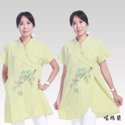 噶瑪蘭 手繪緹花衫CK7387-14A
