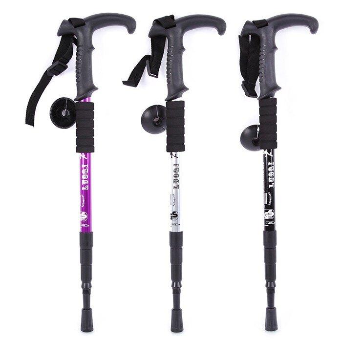 登山杖 超輕登山杖伸縮折疊手杖徒步爬山杖健走棍 戶外出游裝備  MKS