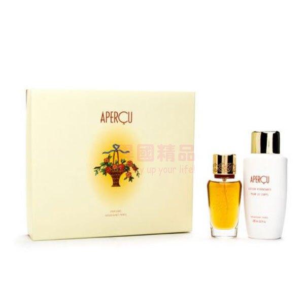 Houbigant Apercu 女用香水兩件禮盒組【特價】異國精品