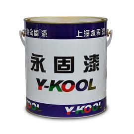 天藍2.4kg永固 調和漆 油漆 酚醛防銹漆 2.4公斤 紅黃黑白綠藍紫古銅色