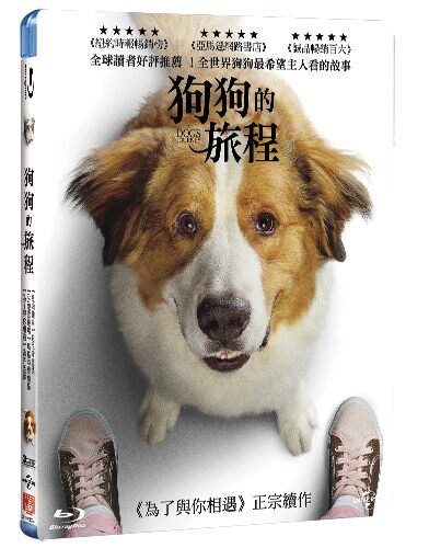 【停看聽音響唱片】【BD】狗狗的旅程