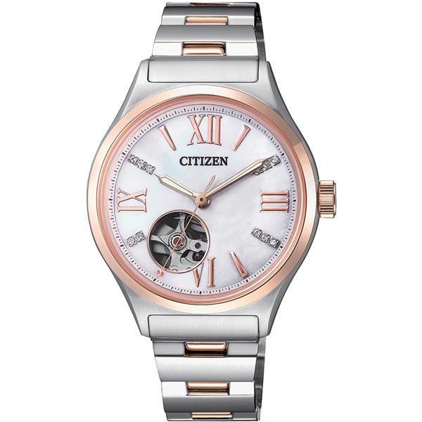 CITIZEN 樂泉時尚機械腕錶-PC1009-51D