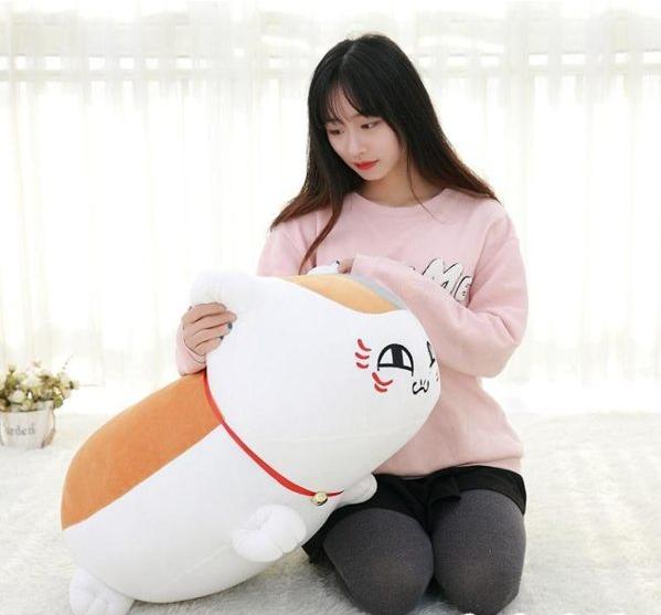 玩偶 夏目友人帳貓咪老師公仔毛絨玩具可愛抱枕玩偶周邊動漫韓國搞怪女