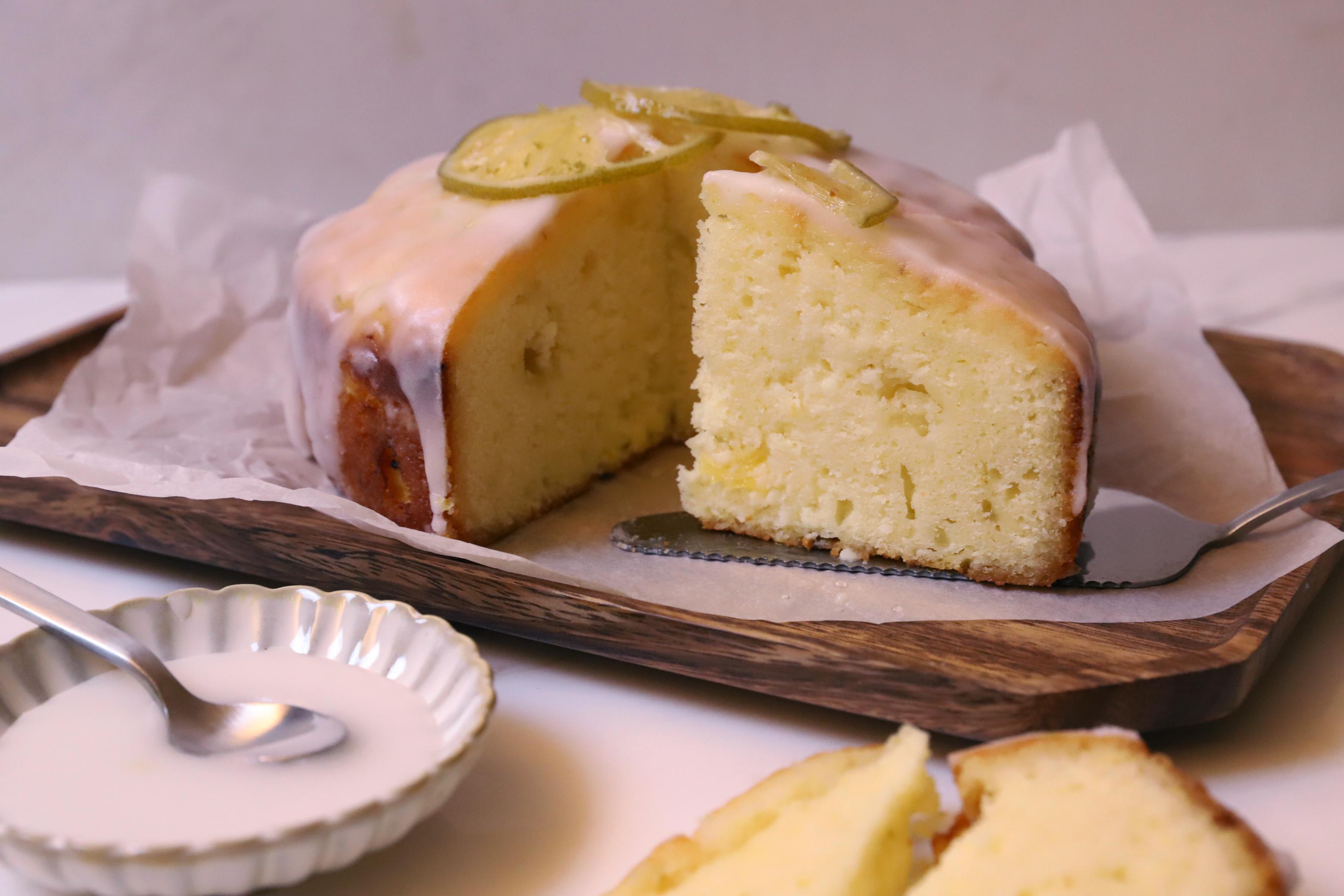 TOPO - 新鮮果肉檸檬柳橙蛋糕-6吋圓形 生日蛋糕
