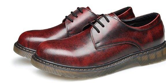 真皮馬丁 厚重 皮鞋 高檔 厚底 增高