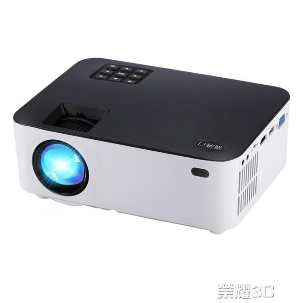 領券下定更優惠 投影機 投影儀投影機家用辦公高清1080p無線wifi手機3D微型智慧