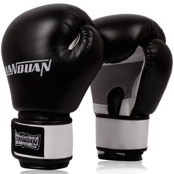 天權成人拳擊手套兒童手套散打拳套男女訓練沙袋泰拳半指格鬥搏擊