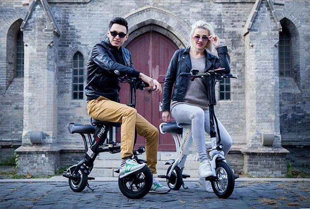 電瓶車 電動滑板車成人可折疊式男女兩輪代步超輕便攜迷你小型電瓶電動車  mks  瑪麗蘇