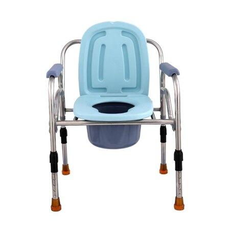 老人坐便器孕婦坐廁椅老年人大便椅坐便椅廁所椅方便椅子可折疊「時尚彩虹屋」 母親節禮物