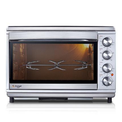 電烤箱-烤箱上下獨立控溫大容量全功能烘焙蛋糕電烤箱家用40升  聖誕節禮物