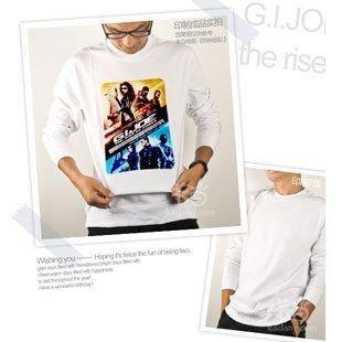 長袖T恤定制 可以把您的圖片印制到T恤上 A4大小T恤定做長袖