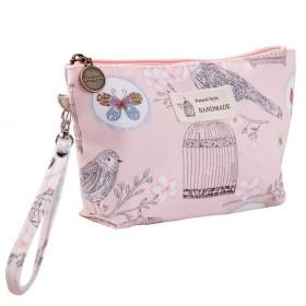 トラベルアップバッグオーガナイザージッパーフラワーコスメティックバッグ女性レディートート洗濯トイレタリー化粧ポーチバッグを作ります,F